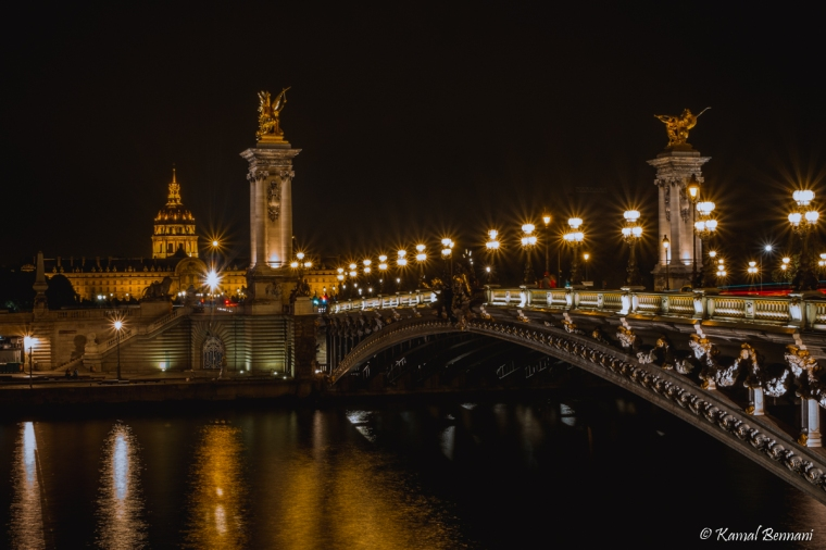 Alexandre III bridge, Paris